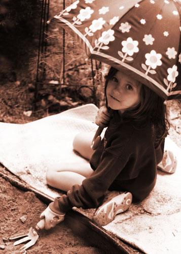 Rain Gardener Lizzie 092711