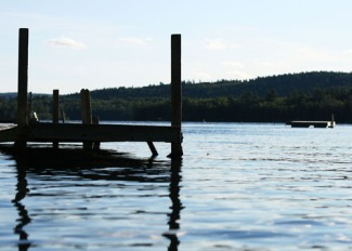 dock on Squam Lake 091611